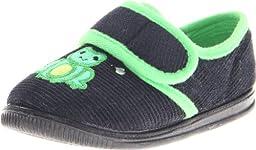 Foamtreads Fuddles Slipper (Toddler/Little Kid),Navy,8 M US Toddler