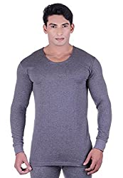 DREAMDROP WARMERS GREY FULLSLEEVES THERMALS FOR MEN BY FASHIONLINE (Small)