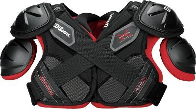 Wilson X Pad 2.0 Shoulder Pad (Black, Medium)