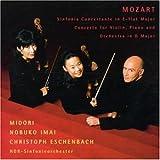 モーツァルト:ヴァイオリンとヴィオラのための協奏交響曲変ホ長調ほか