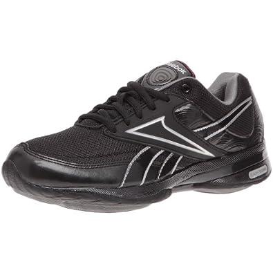 reebok easytone trainers black