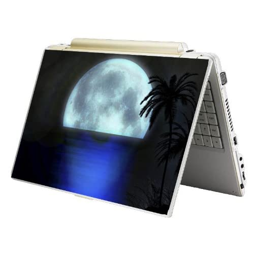 Bundle Monster Laptop Notebook Skin Sticker Cover Art Decal   12 14 15   Fit HP Dell Asus Compaq   Moon Light
