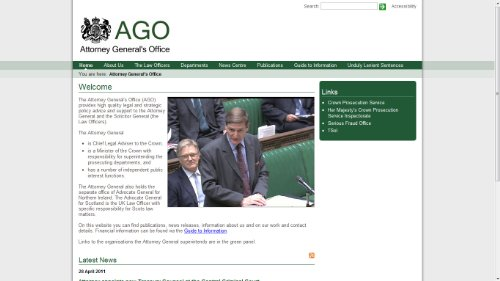 Attorney General's Office News