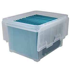 IRIS Letter Legal Size Wing Lid File Box WFB-45