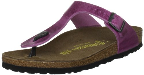 Birkenstock Women's Gizeh 812 UK133 Orchid Slides Sandal 8 UK 41 EU