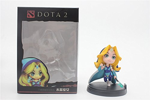 8 CM, Dota 2 Figure Boxed PVC Action Figures Toy (with Box) (Crystal Maiden)