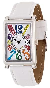 [フランク三浦]MIURA 初号機(改) 美しき革命という異名を持つ伝説のモデル 正回転 完全非防水 腕時計 ジャパンクオーツ FM01K-CRWH
