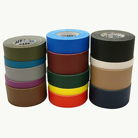 Pro Tapes Pro-Gaff Gaffers Tape: 3 in. x 55 yds. (Dark Blue) by Shurtape