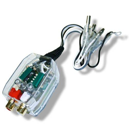 Speaker Rca Line Level Converter Adaptor High Low Hi Lo With Gain Control Add