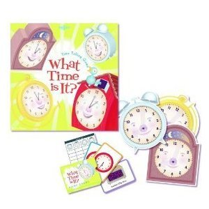 Amazon.com: What Time is it? Time Telling Game: Toys & Games