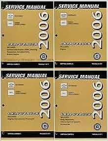 2006 Chevrolet Silverado & GMC Sierra and Denali Factory Service