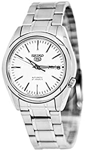 Seiko 5 #SNKL41 Men's Stainless Steel Silver Dial Self Winding Automatic Watch