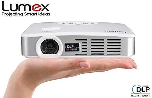 Lumex Picomax Mx 500 Smart Cinema Theater Projector With Android Operating System, Dlp Multimedia, High Speed Wi-Fi, With Hdmi/Vga/Usb/Av Inputs