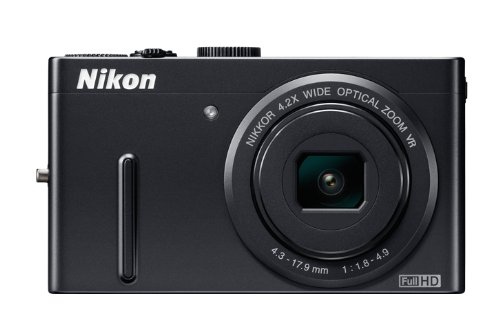 Nikon COOLPIX P300 Compact Digital Camera - Black (12.2MP, 4.2x Optical Zoom) 3 inch LCD