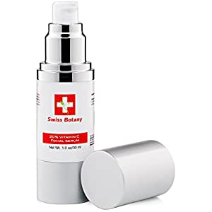 Swiss Botany Vitamin C Serum 20% Amazing Advanced Vitamin C Anti Wrinkle Concentrated Formula.