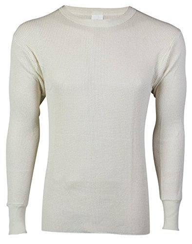 Indera Men's 50/50 Waffle Knit Super Heavy Top