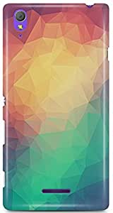 Sony Xperia T3Back Cover by Vcrome,Premium Quality Designer Printed Lightweight Slim Fit Matte Finish Hard Case Back Cover for Sony Xperia T3