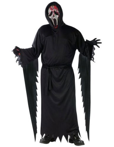 Zombie Ghost Face Bleeding Adult Adult Mens Costume
