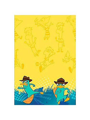 Phineas and Ferb 'Agent P' Plastic Table Cover (1ct)