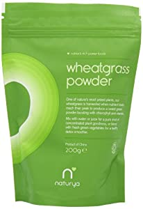 Naturya Organic Wheatgrass Powder 200 g Nutritional Power Food Pouch