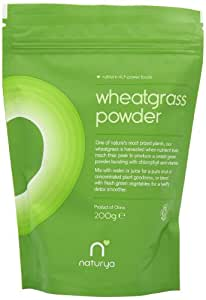 Naturya Organic Wheatgrass Powder 200 g Nutritional Power Food Pouch