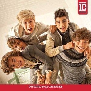 One Direction 12x12 2013 Wall Calendar Bonus 1d Collectors Wish Bracelet from 1D