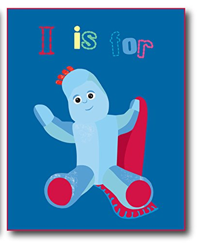 125 X 150 Cm 100 Percent Polyester Iggle Piggle Fleece Blanket, By In The Night Garden