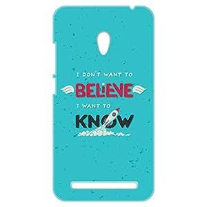 a AND b Designer Printed Mobile Back Cover / Back Case For Asus ZenFone 6 (ZEN_6_3D_2357)