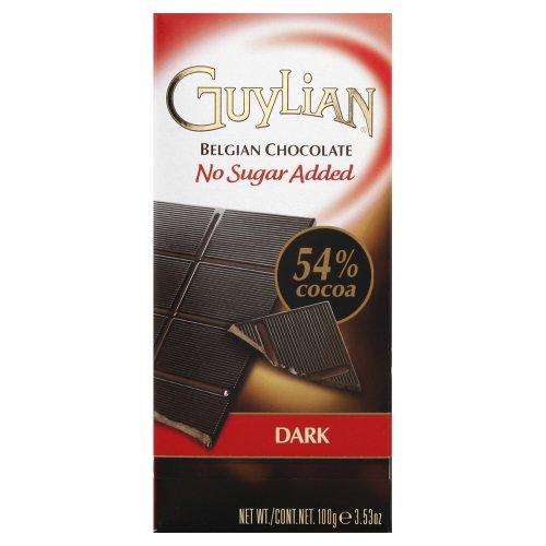 guylian-no-sugar-added-dark-chocolate-bar-35-oz