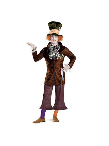 Disguise Men's Alice In Wonderland Movie - Prestige Mad Hatter Adult Costume