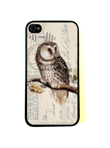 Mixed Media Owl Protective Rubber Back Fits Cover Case for?Samsung Galaxy Note3/n9000 (Mixed Media Iphone 6 Case compare prices)