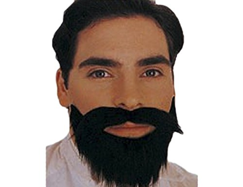 [Sunset Intimates Facial Hair, Long Manly Style] (Manly Halloween Costumes)