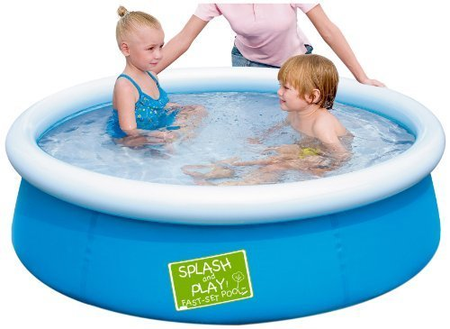 Splash & Play 5′ My First Fast Set Pool, Blue by Splash & Play online kaufen