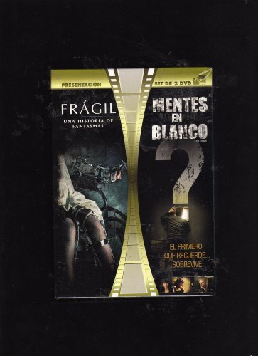 2 DVD Horror Film Pack: Fragile (Fragil) & Unknown (Mentes En Blanco) [NTSC/REGION 1 & 4 DVD. Import-Latin America]