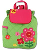 Stephen Joseph Little Girls' Quilted Backpack