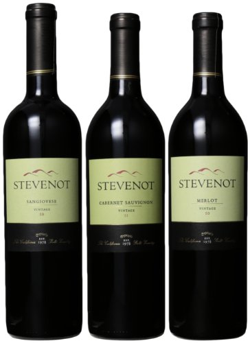 Stevenot Winery  Cold Weather Warm Red Wines, 3 x 750 mL