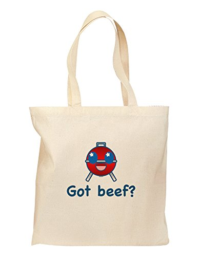 Got Beef Grocery Tote Bag - Natural