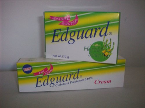 EDGUARD CLOBETASOL PROPIONATE SKIN LIGHTENING CREAM &amp; SOAP KIT