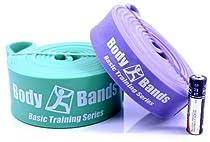 Body-Bands Pull Up Band Set #2 (Set of 2 Bands)