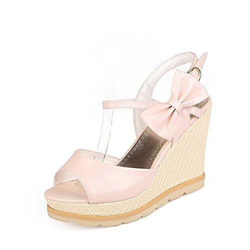 adee-girls-bows-wedges-pink-polyurethane-sandals-65-uk