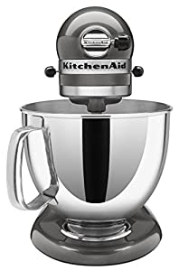 NEW Kitchenaid Stand Mixer tilt 5-QT Ksm150ps All Metal Artisan Tilt 10 Colors (5Liquid Grapite Grey QG)
