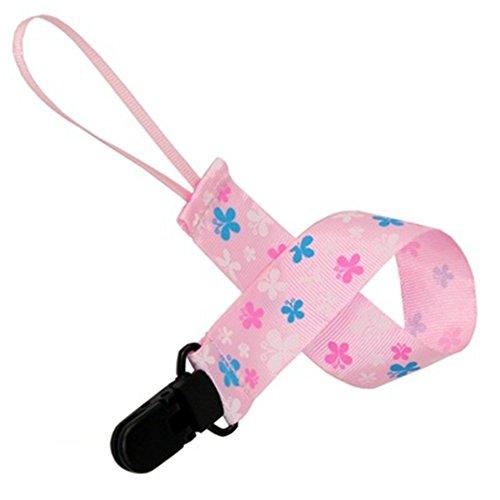 interestingr-1-pcs-bebe-enfants-dummy-sucette-clip-nipple-leash-chain-strap-porte-clip-rose