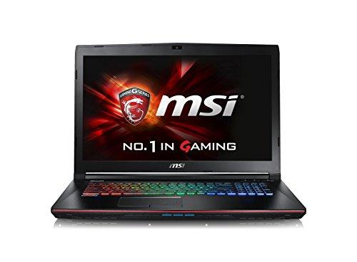 CUK MSI GE72VR Apache Pro VR Ready Laptop (i7-6700HQ, 16GB RAM, 256GB SSD + 1TB HDD, NVIDIA Geforce GTX 1060...