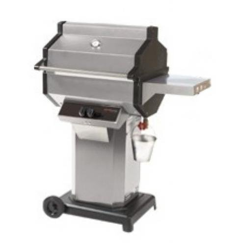 Phoenix Sdssocp Stainless Steel Propane Gas Grill Head On Stainless Steel Cart With Aluminum Base front-351556