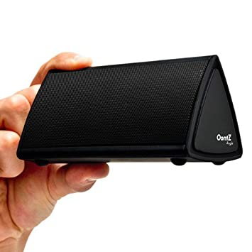 The OontZ Angle Ultra Portable Wireless Bluetooth Speaker - Better Sound, Better Volume, Incredible Online Price - The Perfect Speaker to take everywhere with you this summer (Black)