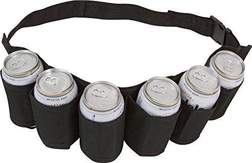 Sanrense® Beer & Soda Can Holster Belt Tool Sets for Bar Party Barbecue & Outdoor Dining Camping Trips (Homemade Cool Costumes Halloween)
