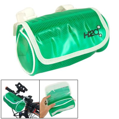 Como Clear Grn Water Resistant Handlebar Bag Pouch for Bike