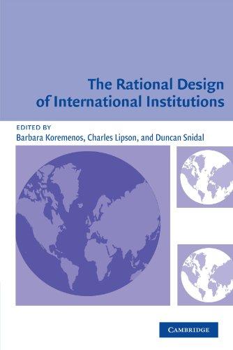 The Rational Design of International Institutions (International Organization)