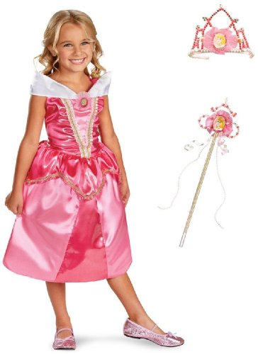 Aurora Princess Makeover Kit Disney Princess Costume for Girls