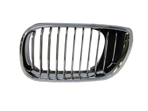 Bmw 3 Series 02-05 Left Front Grille Car Chrome (Front Grill Bmw 325i 2004 compare prices)